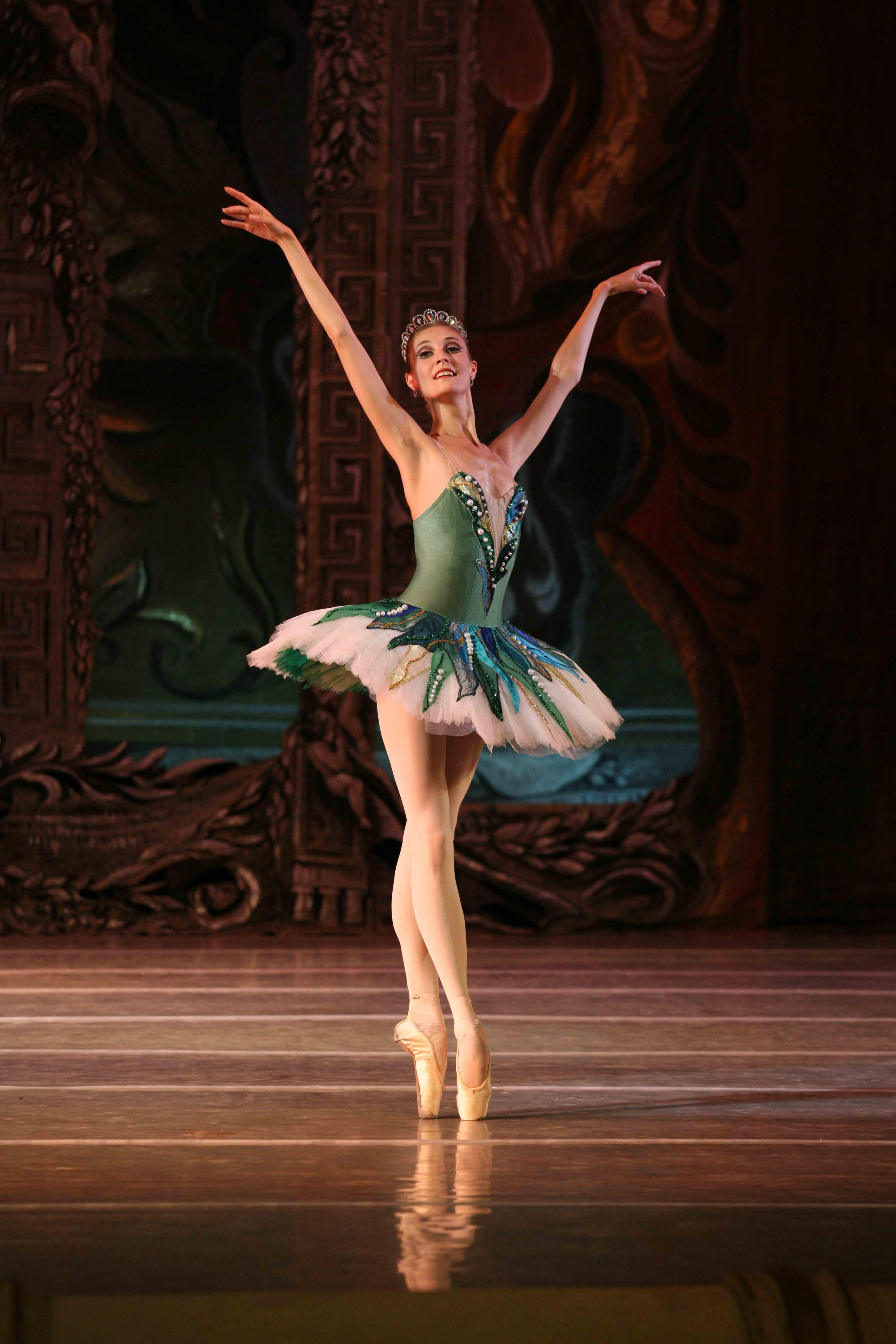 danseuse qui tourne
